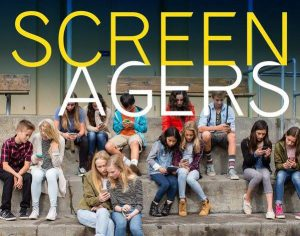 Photo of movie poster Screenagers