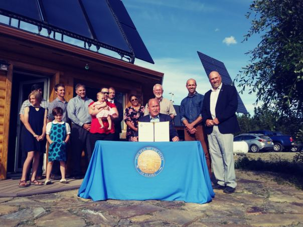 Alaskans may soon be able to finance energy improvements through their utility bills
