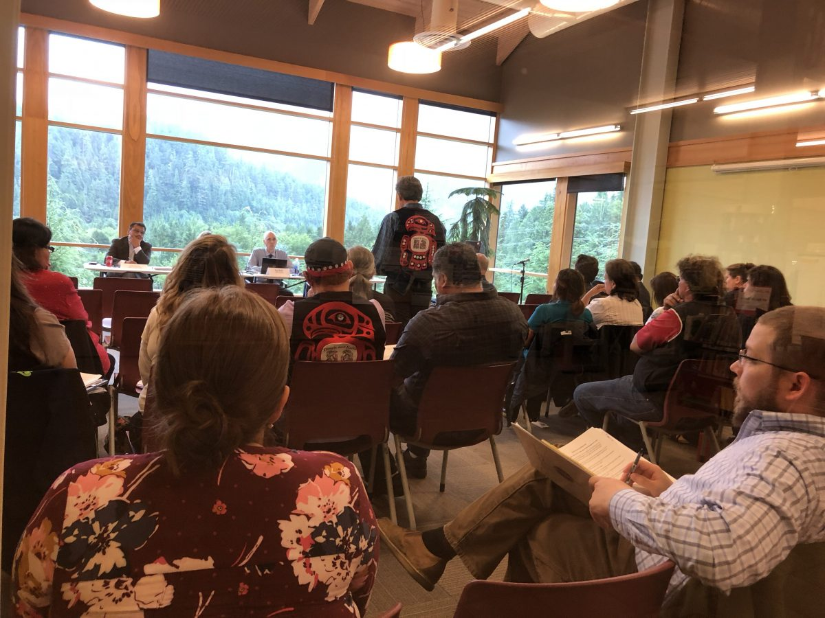 Native tribes in Ketchikan tell Interior department to keep land-trust program