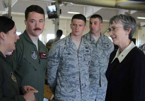 Top military officials visit Alaska bases