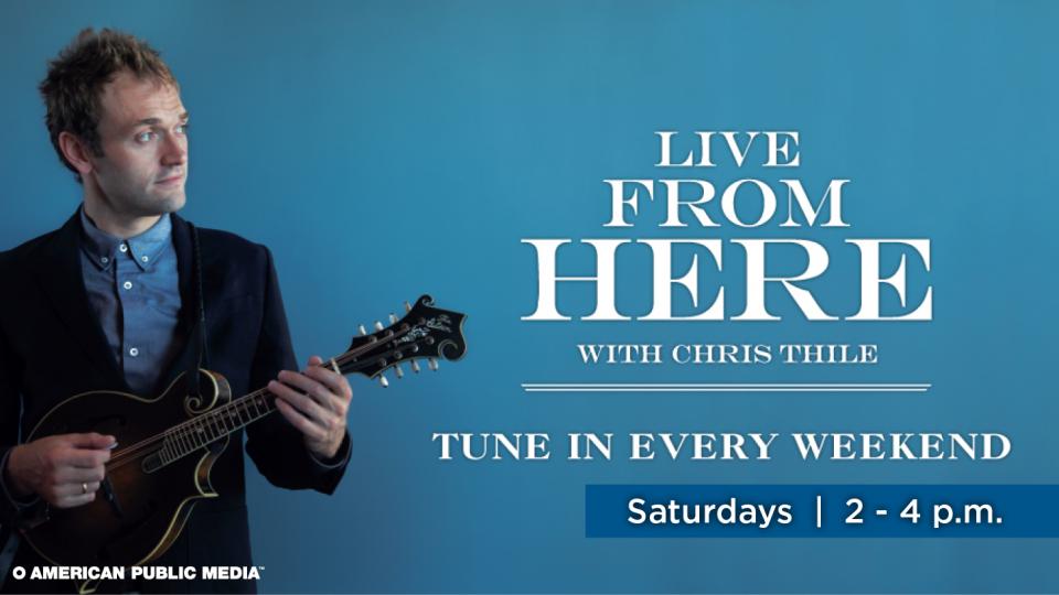 Listen to 'Live From Here' on Alaska Public Media