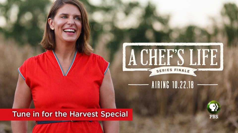 """Don't miss the """"Harvest Special"""" series finale of Chef's Life."""