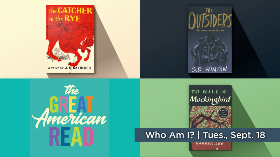 The Great American Read | Who Am I? - Airs Tuesday, Sept. 18 at 7 p.m.