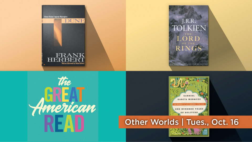 "Watch ""Other Worlds"" as part of the Great American Read."