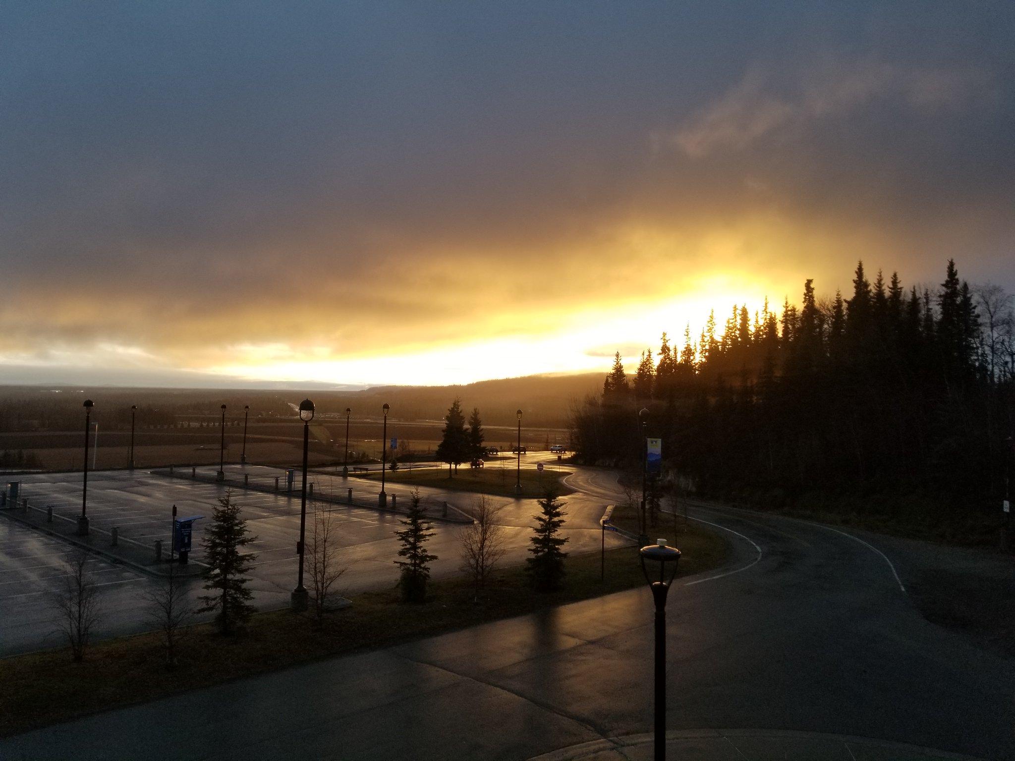 Possible 'green' Halloween on the horizon in Fairbanks