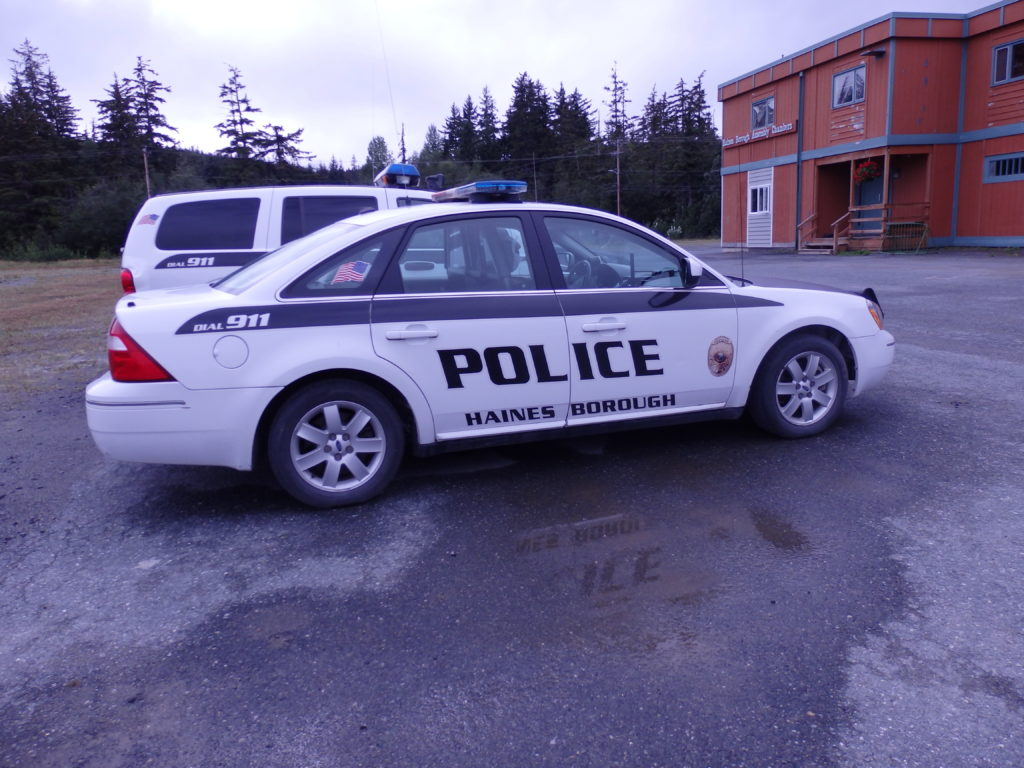 Haines Police ordered to stop responding to calls outside the townsite