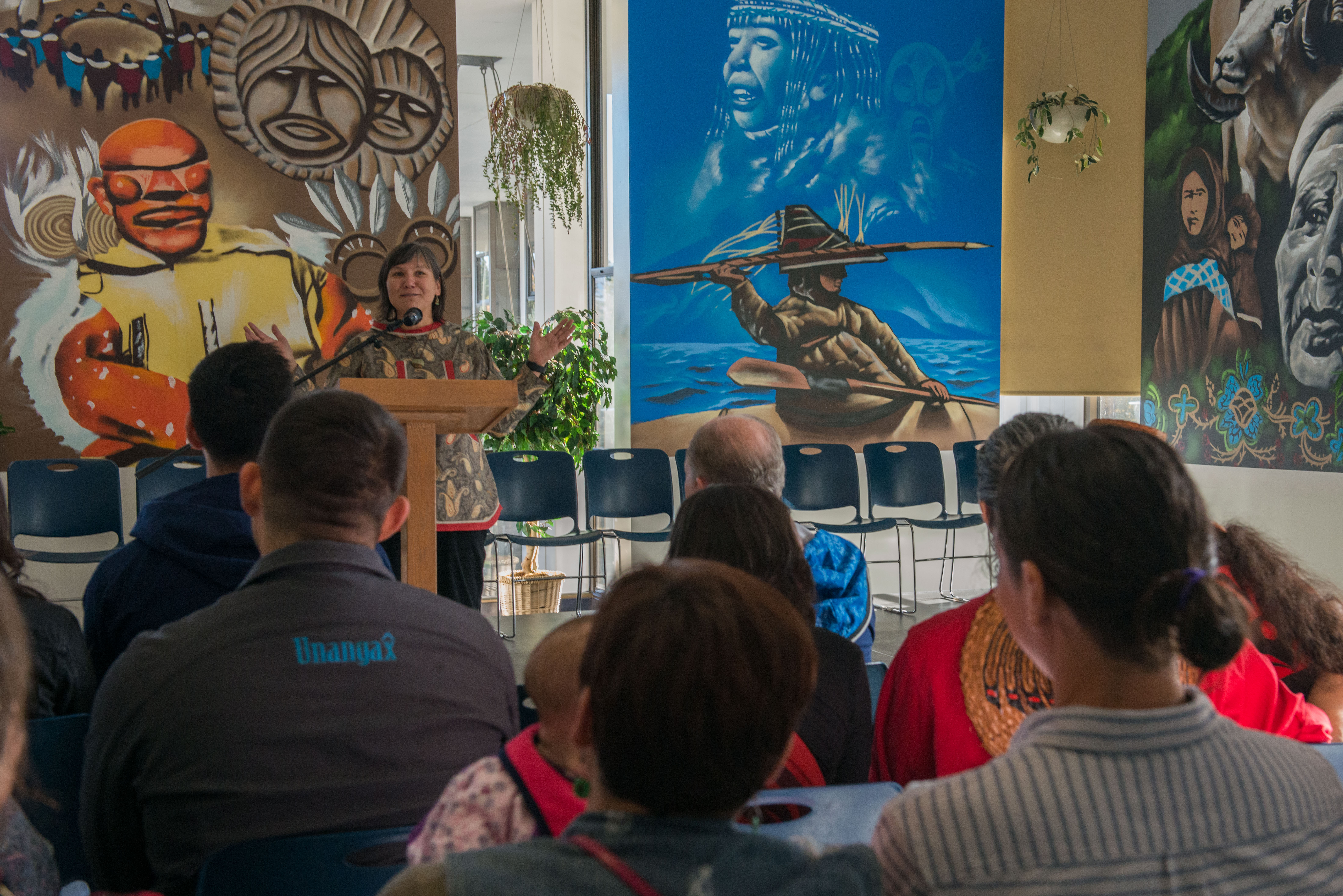 Alaska tribes gather together to celebrate Indigenous Peoples Day