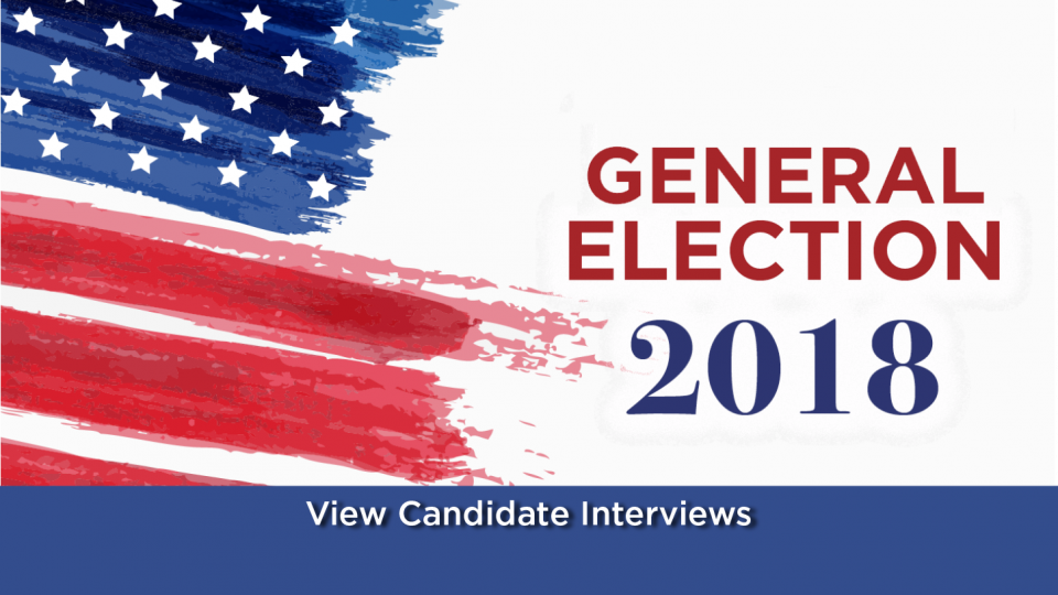 View videos of candidates running in the 2018 election.