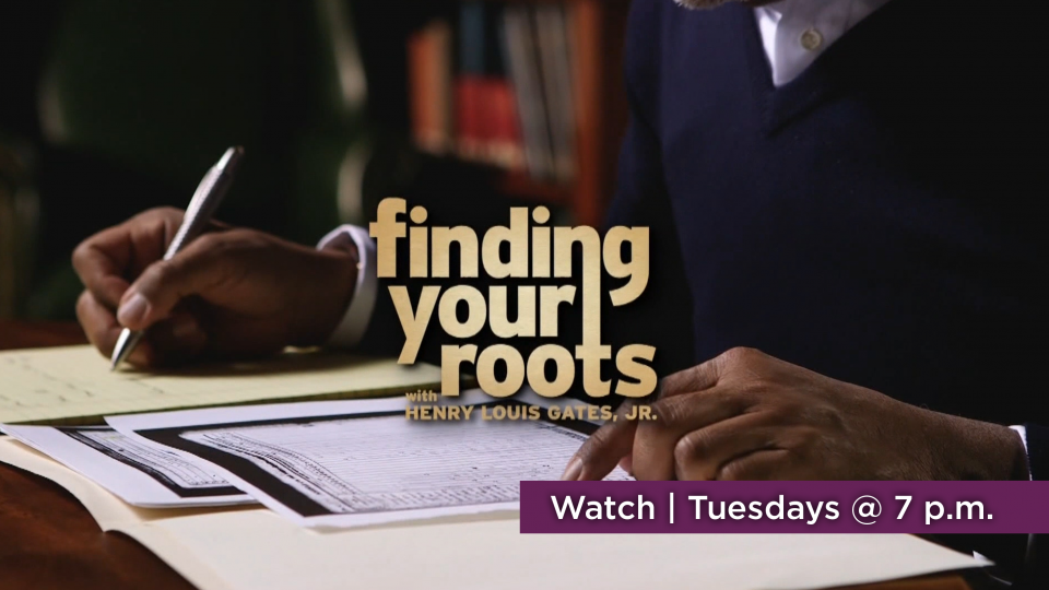 Watch Finding Your Roots, Tuesdays at 7 p.m. on Alaska Public Media TV.