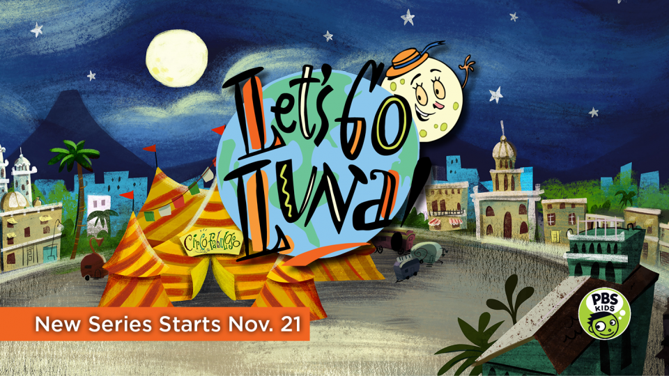 The NEW PBS Kids series Let's Go Luna! premieres November 21 at 8 a.m. on Alaska Public Media TV (KAKM Ch.7).