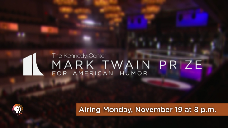 Tune In to The Mark Twain Prize on Monday, November 19 at 8 p.m.