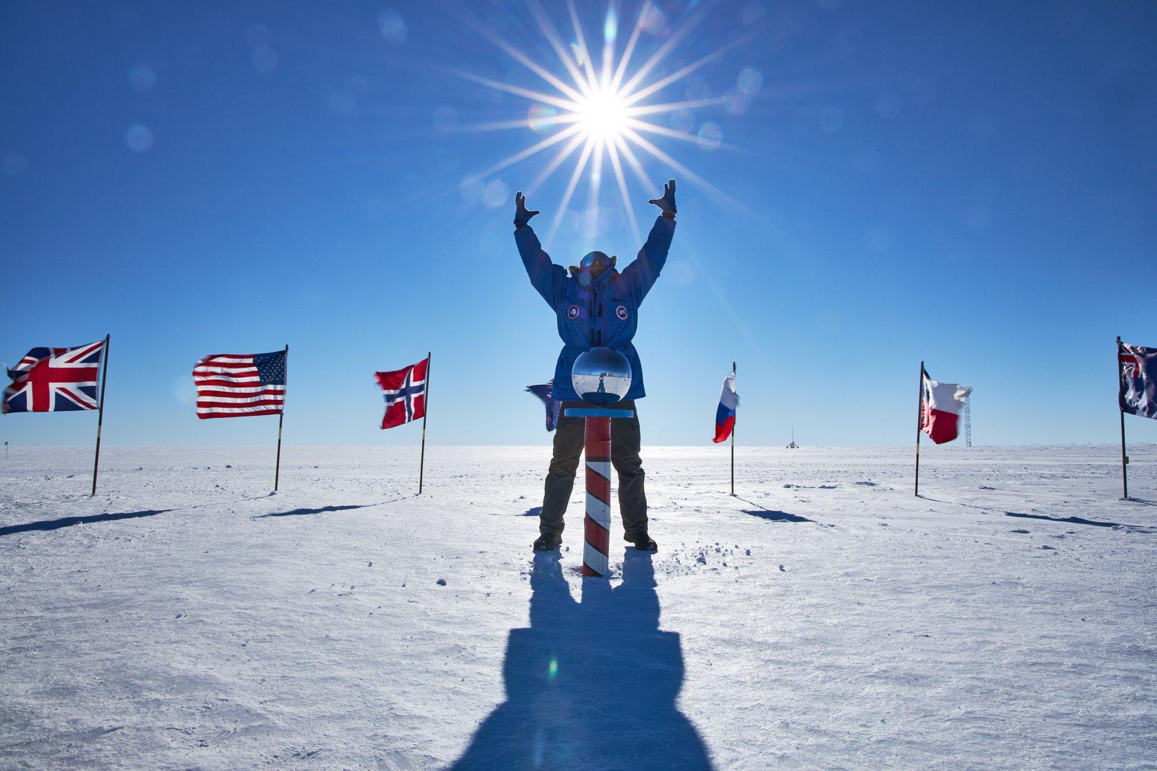 south pole or bust uaf students make alaska antarctica trek