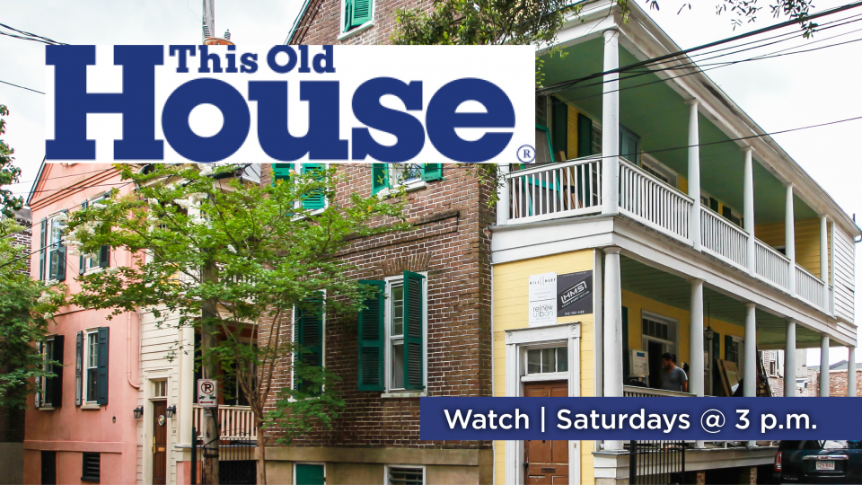 Watch This Old House, Saturdays at 3 p.m. on Alaska Public Media TV (KAKM Ch.7).