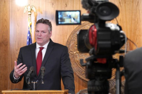 Watch: Dunleavy to announce decisions on PFD, budget vetoes