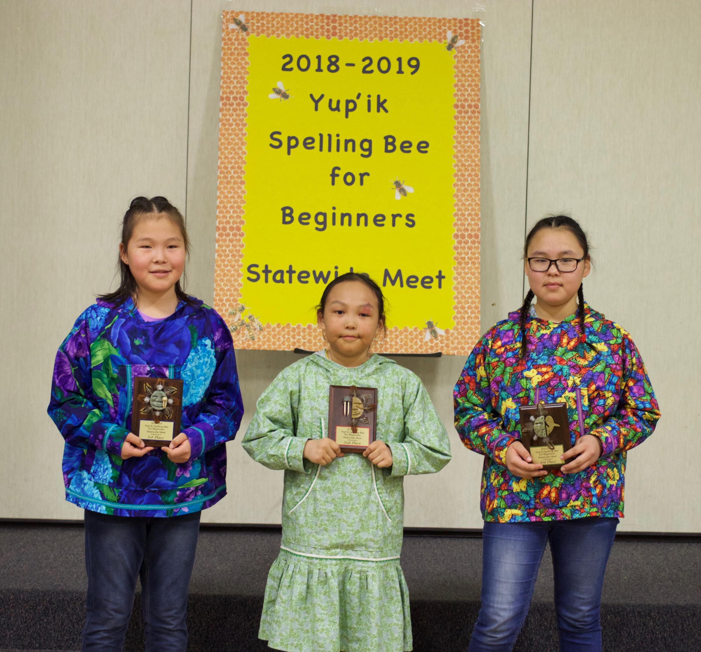 Yup'ik literacy reaches new heights in spelling bee