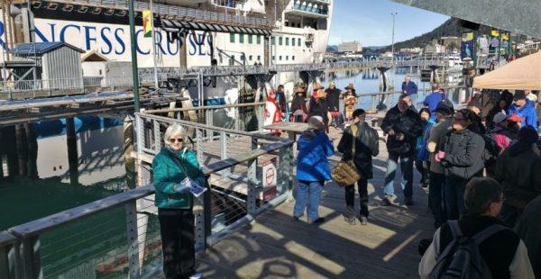 Juneau's 2019 cruise ship season has begun