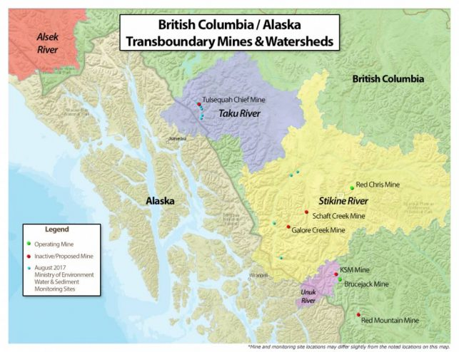 House Fisheries urges pressure on B.C. over transboundary mining
