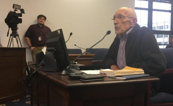 Constitutional delegate Vic Fischer opposes Dunleavy's amendment proposals