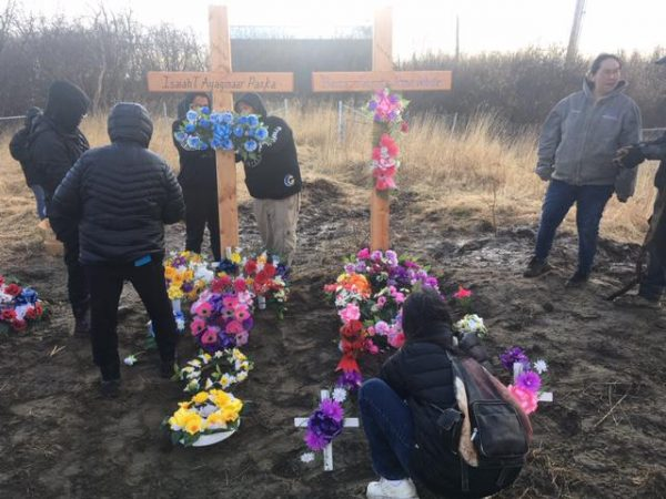 Napakiak says goodbye to residents who died in jail fire