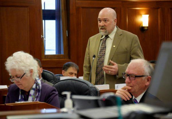 Senate sends criminal justice bill to Dunleavy's desk