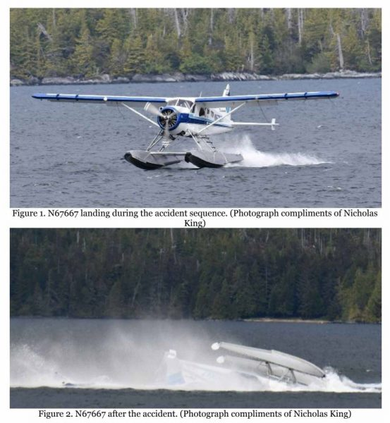 NTSB releases preliminary report for Metlakatla floatplane
