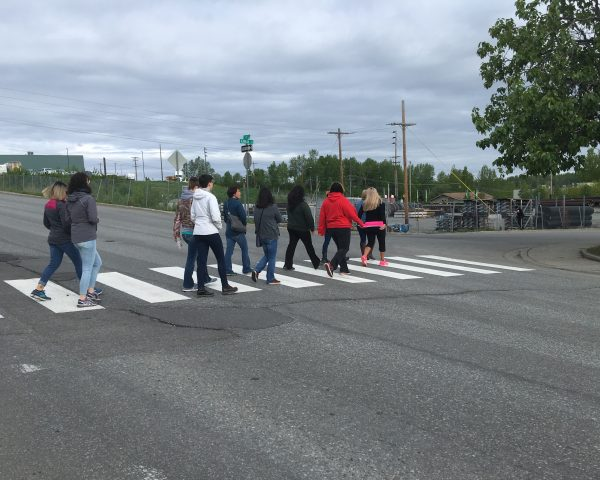 Anchorage 're-entry walk' offers glimpse of path out of prison