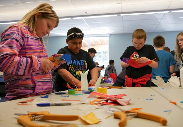 AK: Petersburg students turn plastic trash into artsy treasures