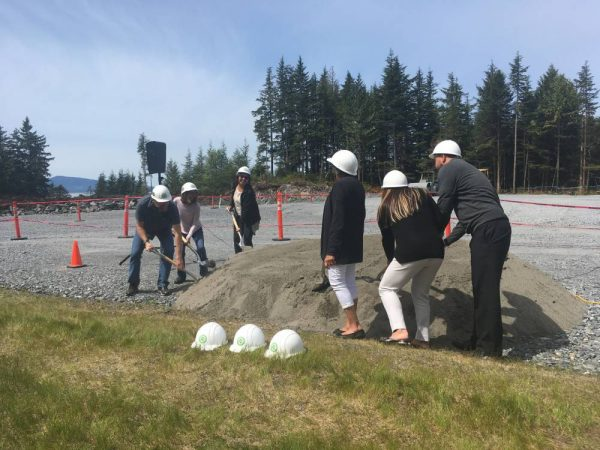 Ground broken at soon-to-be SEARHC hospital in Wrangell