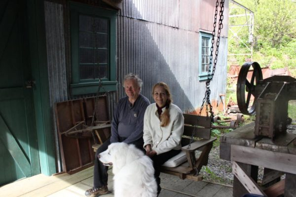 AK: Meet the Juneau couple who brush their teeth next to history