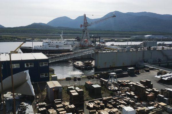 Alaska considers $10 million loan fund to prop up Ketchikan's shipyard