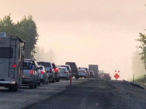 Spreading Swan Lake Fire prompts traffic delays and air quality warnings