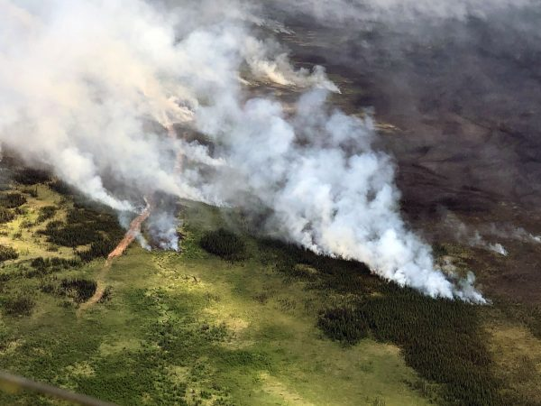 Swan Lake Fire growth prompts switch from monitoring to firefighting