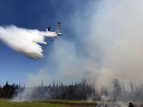 Malaspina and Montana Creek Fire update for July 8th.