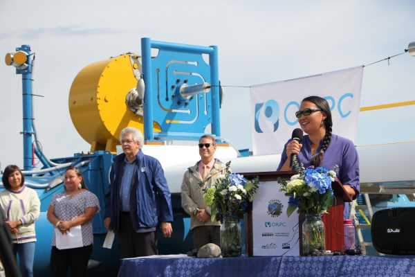 Igiugig's hydropower launch a major step toward independence from diesel