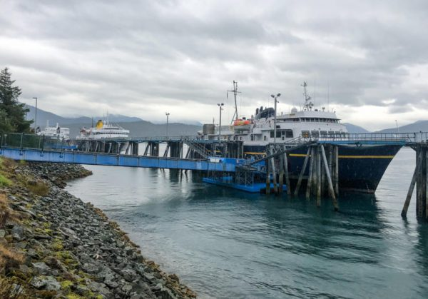 Ferry workers' strike chokes supply chain to Gustavus