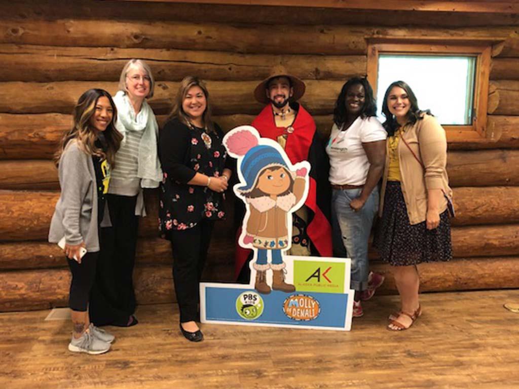 AKPM Molly of Denali PBS Education Pop Up
