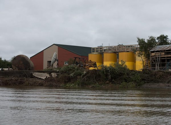 Plans for moving Napakiak school fuel tanks to develop at pace of erosion