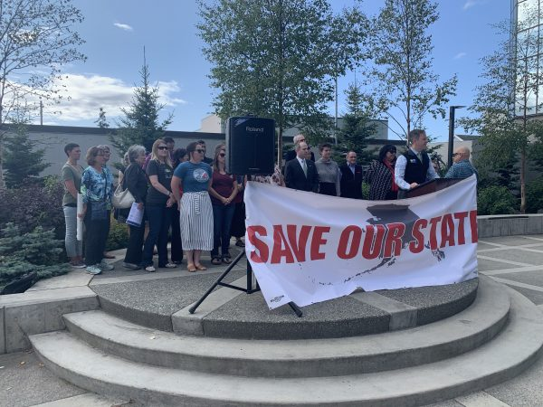 Under 'Save Our State' banner, more than 25 organizations implore Dunleavy: No more vetoes