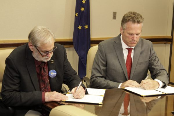 Dunleavy points to university budget cut agreement as a model