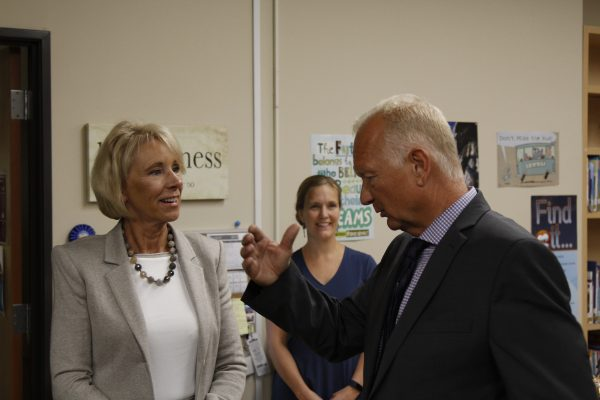 In visit to Alaska, Education Secretary DeVos touts alternative schooling methods