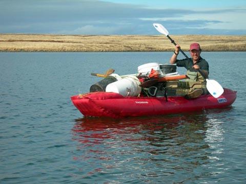 Kodiak archaeology with Patrick Saltonstall