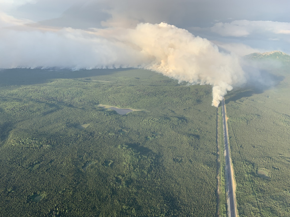 Here's how a Kenai Peninsula wildfire could cause higher electric bills in Anchorage and Fairbanks