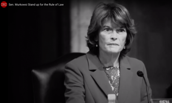 These people want to push Murkowski to take a stand against Trump – and they're Republicans