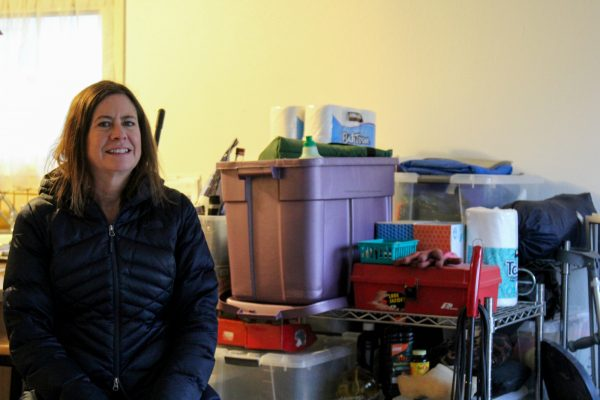 20191113 Leslie Dickson at home in her kitchen 600x400 - Debt, anxiety, confusion: a year later, some earthquake victims still recovering