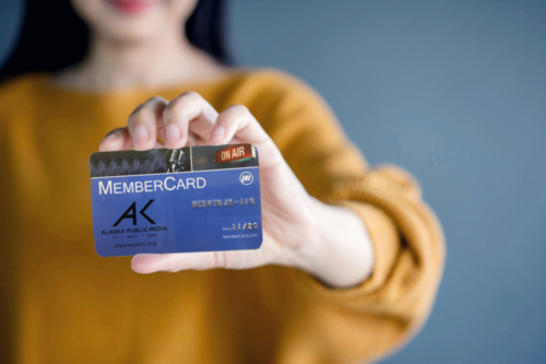Membercard Image of Person Holding a Membercard