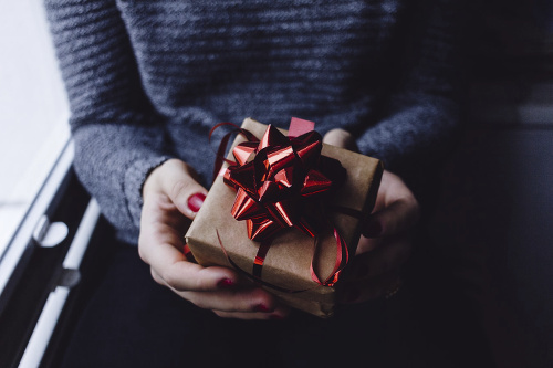 Other Ways to Give Image of Person Holding Gift