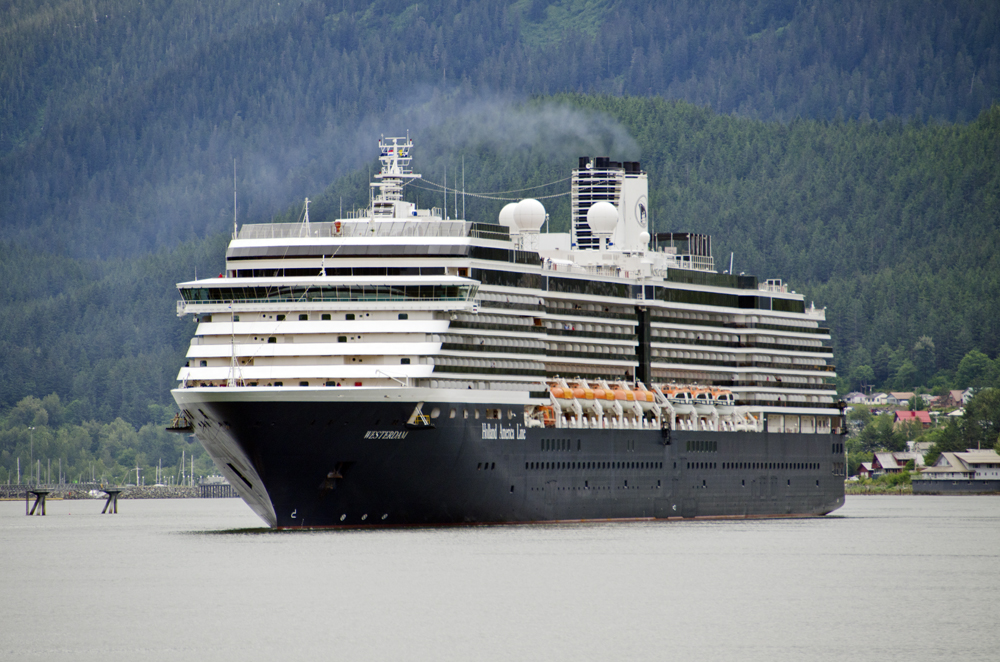 What's the air quality like in Southeast Alaska without cruise ships? Scientists hope to find out this summer - Alaska Public Media