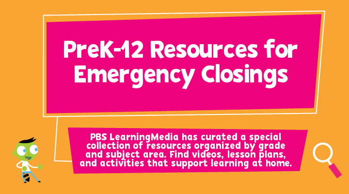 prek-12 resources for emergency closings