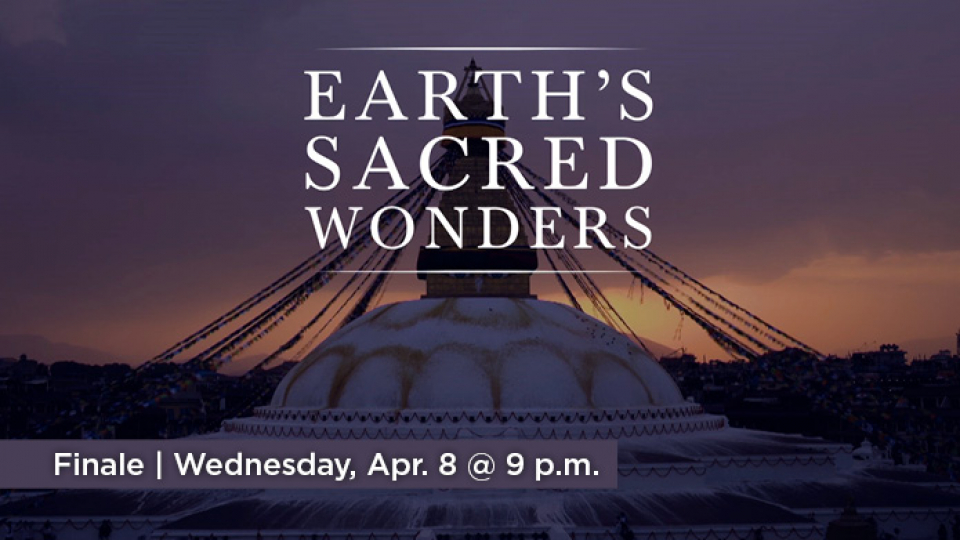 Watch Earth's Sacred Wonders finale, Wednesday, April 8 at 9 p.m. on Alaska Public Media TV.