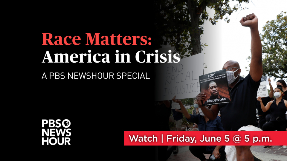 Race Matters Friday, June 5 at 5 p.m. on Alaska Public Media TV.